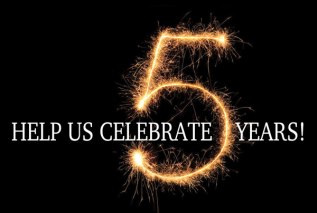 5 years…and let'sPARTY